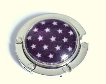 Hanging stars - purple purse