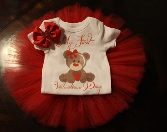 Bear My First Valentines Day