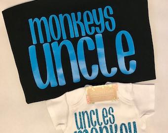 Uncles Monkey/Monkeys Uncle Set