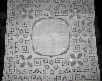 Madeira Handkerchief, Antique Hankie Wedding Embroidered Handkerchief Vintage Linen Hankies
