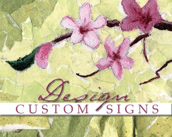 DISTRESSED EDGES - add-on for wood sign order