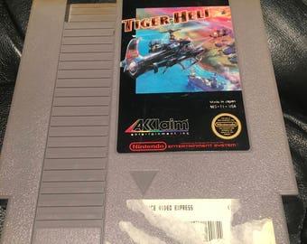Tiger Heli 1987 NES Nintendo Entertainment System Video Game