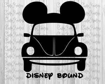 Disney Bound - Car