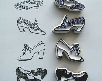 My Favorite Shoe Collection stamp set (4)
