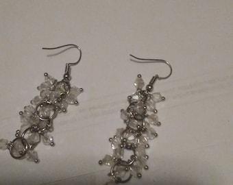 Cascading earrings