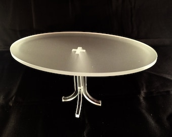 Oval table in scale 1/12