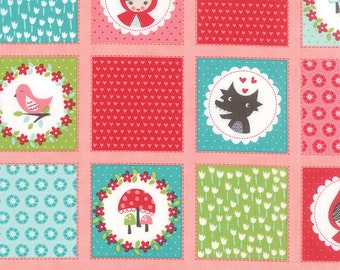 Lil Red by Stacy Iset Hsu for Moda Patchwork in pink 1 yard Shipping is combined and refunds are given