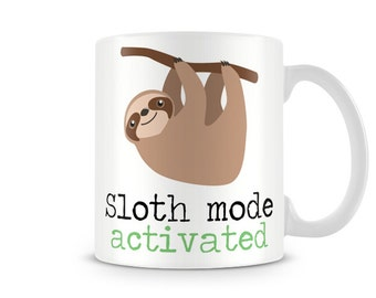 Sloth Mode Activated TEXT1503