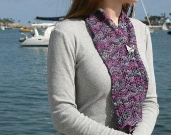 Pattern - Miss Morland's Scarf Knitting Pattern by Blarney Yarn