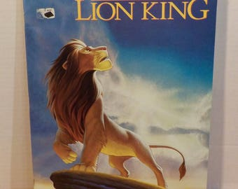 The Lion King Disney Music Tab Book Piano Vocal Hal Leonard 5 Songs 55 Pages