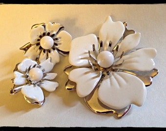 Sarah Coventry Brooch and Earrings Set