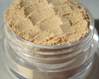 Sunny Yellow Gold Mineral Eyeshadow | Loose Powder | Shimmer | Cruelty-Free | Vegan Mineral Eye Shadow-Cheerful Sunshine