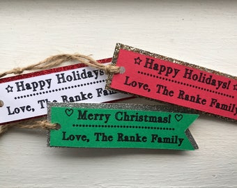 Personalized Holiday Gift Tags
