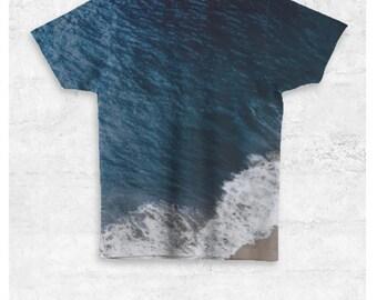 Ocean Blue Unisex Tee