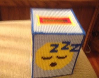 Emoji tissue covers and Lighthouse cover