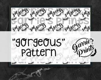 Printable | Gorgeous Pattern |