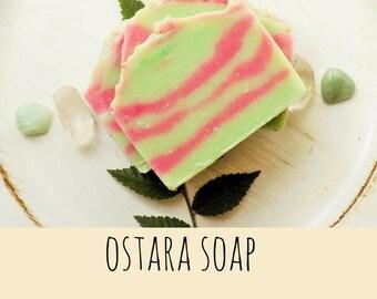 Ostara - Handmade Soap - Goddess - Spring - Cold Process Soap - Natural Soap - soap