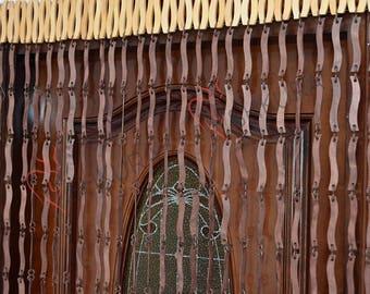 Door Curtain door beads, door bead curtain Decor for living room Wood blinds Door Beads Curtains Beaded Curtain Wood Door Curtain Handmade
