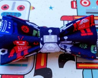 Robot child's size clip on bowtie.