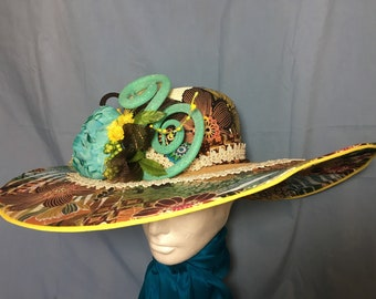 Casual to Dressy Chapeau, hat for every occasion or for the Kentucky Derby
