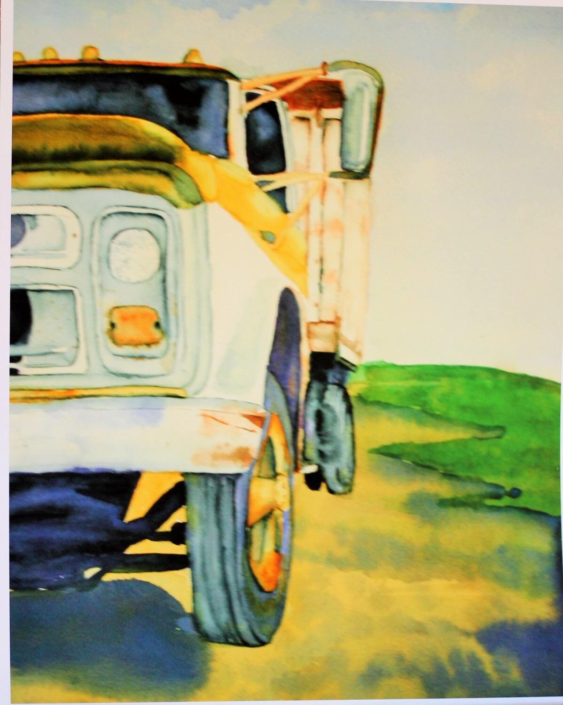 Chevy Truck Chevy Art Chevy Decor Chevrolet Truck Dump