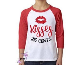 Kisses Valentines T Shirt