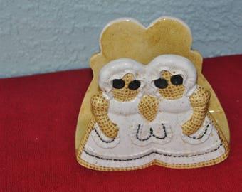 Sittre Prod. Ceramic Napkin Holder