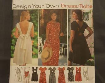 Simplicity Dress Pattern Sizes 12-16