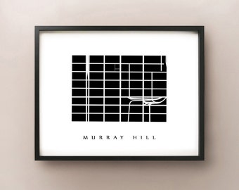 Murray Hill, Manhattan - New York City Neighborhood Art Print