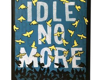 Idle No More Stickers - Sticker Pack Sticker Art Sticker Set Laptop Sticker for Laptop Art sticker