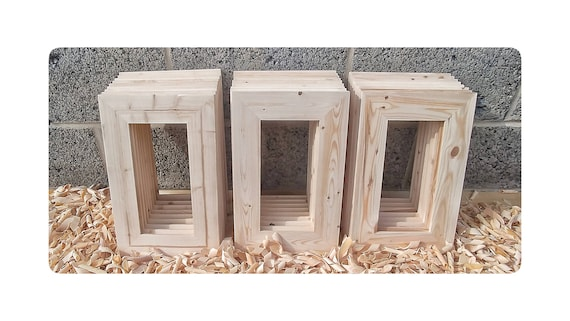 25 Wood Frames No Hardware or Glass Bulk Wood Frames