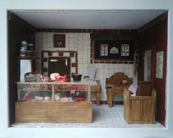 "Miniature shop ""The Butchery"""