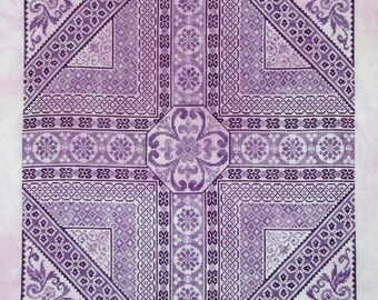 Shades of Purple PDF chart by Northern Expressions Needlework