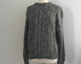 Oversized Sweater, Biggie Sweater, 80s Shirt, Sweatshirt, 90s Clothing, Grunge, 90s Grunge, Grunge Sweater, Boyfriend Fit, Chunky Knit