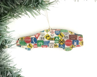 Road Trip Ornament, Road Trip Christmas Ornament, Vacation Ornament, Car Ornament, Car Christmas Ornaments For Boys, Travel Ornament