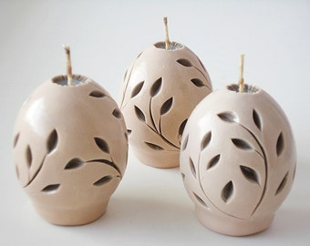 Easter carved candles, carved Easter candles, unique Easter candles, handmade candles, Easter, Easter egg, candle carved candles