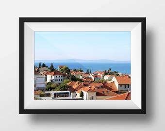 Split Croatia Wall Art | Travel Decor | Croatia Photo | Fine Art Photography | Old Town Cityscape | Image File (Digital Download)