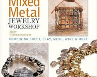 Book - Mixed Metal Jewelry Workshop (BK5288) **CLOSEOUT**
