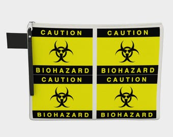 Caution Biohazard Carry All