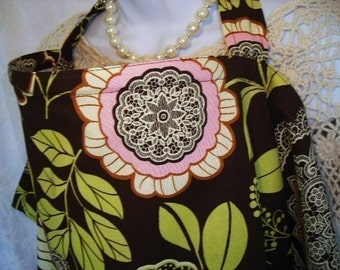 Nursing Cover w/ pocket - Olive Lacework - Several CHIC and STYLISH Prints