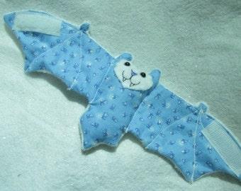 Firefly Bat Faux Fur Cup Sleeve, Coffee Cozy/ Cozie, Stuffed Animal, Softie