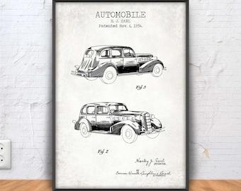 Delorean patent print delorean poster delorean blueprint automobile poster automobile print automobile blueprint automotive decor car wall art malvernweather Choice Image
