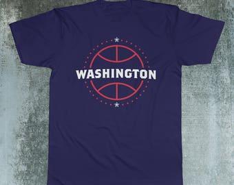 Washington Wizards Basketball Fan T-Shirt 50/50 blend (Fan Made)