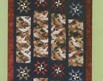 Panel Quilt Pattern by Sandy Irish - Designed for a Focus Fabric - DIY, Twin or Queen Size