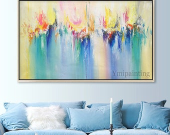 Abstract painting acrylic painting on canvas,huge size,art PaintingWall Art Pictures for living room Home Decor Hand Painted nodric abstract