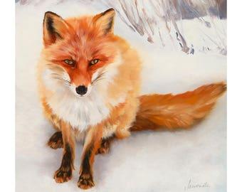 Fox Print Fox Art Fine Art Print Animal Spirit Guide