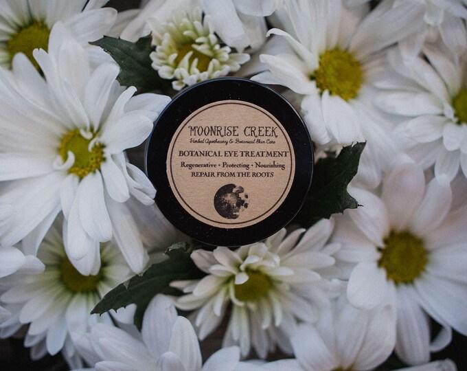 SAMPLE • Botanical Eye Treatment • Regenerative + Protecting + Nourishing • Anti Aging + Fine Line Reducing + Anti Inflammatory + Brightenin