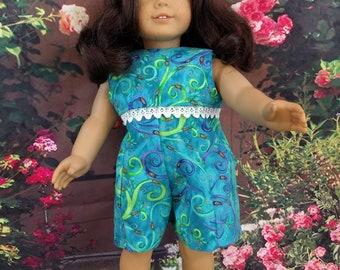 Summer Doll Culotte w/Lace Trim - fits 18 Inch Dolls