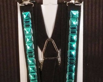 Metallic Suspenders