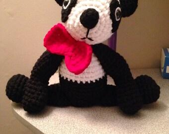 Cute Crochet Panda Bear